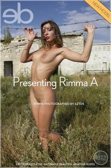 Erotic Beauty Presenting Rimma Rimma