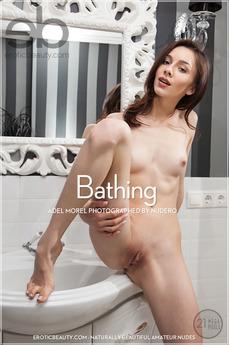 EroticBeauty - Adel Morel - Bathing by Nudero