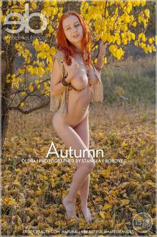 EroticBeauty - Olivia I - Golden Autumn by Stanislav Borovec