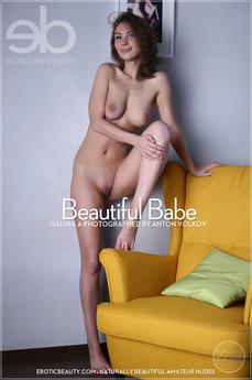 EroticBeauty - Galina A - Beautiful Babe by Anton Volkov