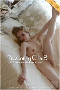 EroticBeauty - Olia B - Presenting Olia B by Paramonov