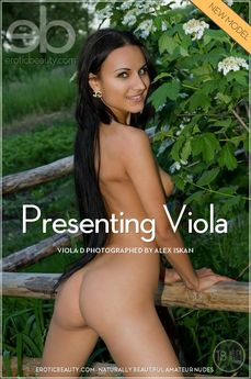 Erotic Beauty Presenting Viola Viola D