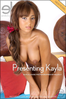 Erotic Beauty Presenting Kayla Kayla Louise
