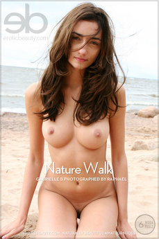 Erotic Beauty Nature Walk Gabrielle B