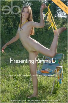 EroticBeauty - Rimma B - Presenting Rimma B by Stanislav Borovec