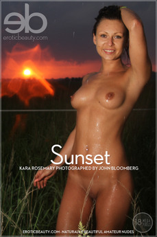 EroticBeauty - Kara Rosemary - Sunset by John Bloomberg