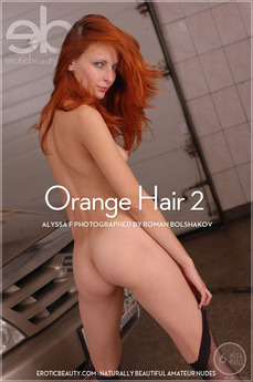 Erotic Beauty Orange Hair 2 Alyssa F