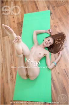 Erotic Beauty - Selin - Yoga by Stanislav Borovec