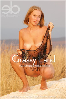 Erotic Beauty Grassy Land Stamie