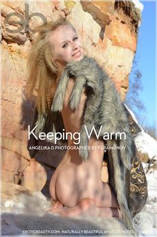 EroticBeauty - Angelika D - Keeping Warm by Paramonov