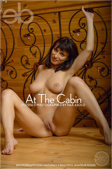 EroticBeauty - Olesya D - At The Cabin by Max Asolo