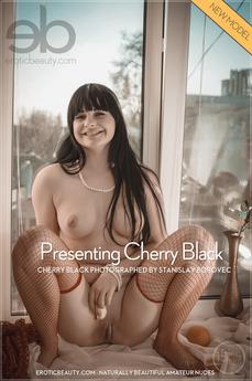 EroticBeauty - Cherry Black - Presenting Cherry Black by Stanislav Borovec