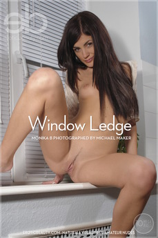 Erotic Beauty Window Ledge Monika B