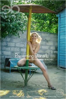 EroticBeauty - Diana L - Presenting Diana L by Stanislav Borovec