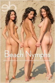 Erotic Beauty Beach Nymphs Irina B & Olivia B & Vika G