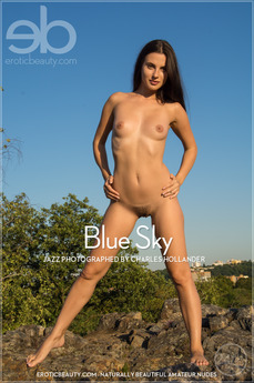 Erotic Beauty - Jazz - Blue Sky by Charles Hollander