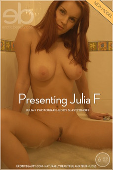Erotic Beauty Presenting Julia F Julia F