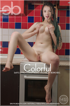 Erotic Beauty - Safo A - Colorful by Stanislav Borovec