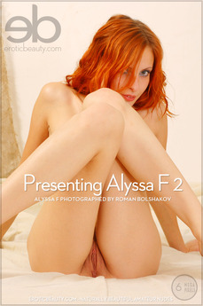 Presenting Alyssa F 2