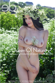 EroticBeauty - Mirela A - Queen Of Nature by Quanty Rodriguez
