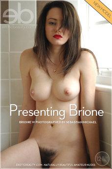 Erotic Beauty Presenting Brione Brionie W