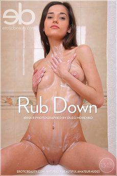 Erotic Beauty Rub Down Irina B