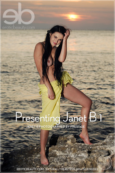 Erotic Beauty Presenting Janet B 1 Janet B
