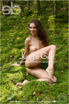 EroticBeauty - Galina A - Jungle Girl by Anton Volkov