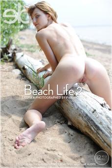 EroticBeauty - Eriska A - Beach Life 2 by Paramonov