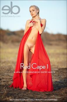 Erotic Beauty Red Cape 1 Aljena A