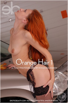 Erotic Beauty Orange Hair 1 Alyssa F