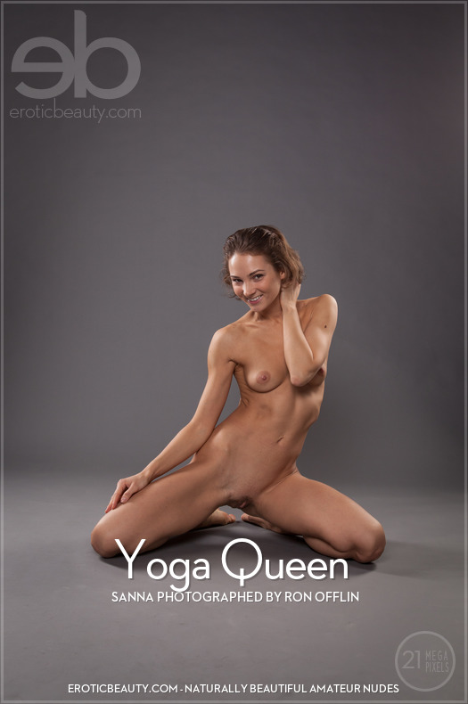 Yoga Queen featuring Sanna by Ron Offlin