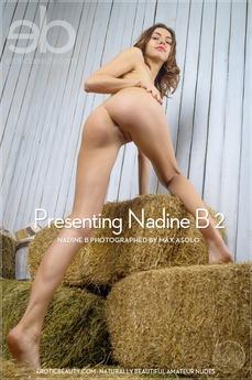 Presenting Nadine B 2