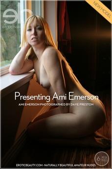 Presenting Ami Emerson