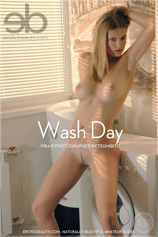 Wash Day featuring Vika R by Tsumibito