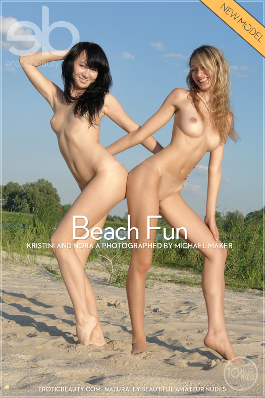Beach Fun featuring Kristini & Nora A by Michael Maker