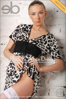 Black & White Dress 1