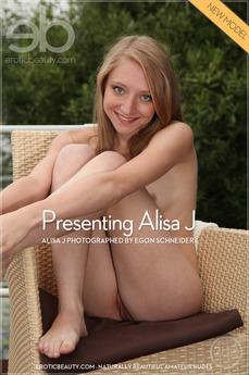 Presenting Alisa J