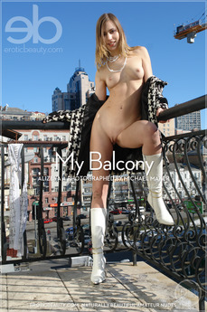 My balcony. My Balcony featuring Alizeya A by Michael Maker
