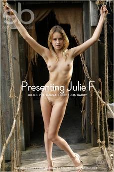 Presenting Julie F