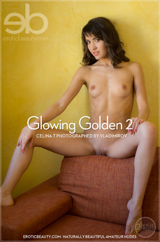Glowing golden 2. Glowing Golden 2 featuring Celina T by Vladimirov