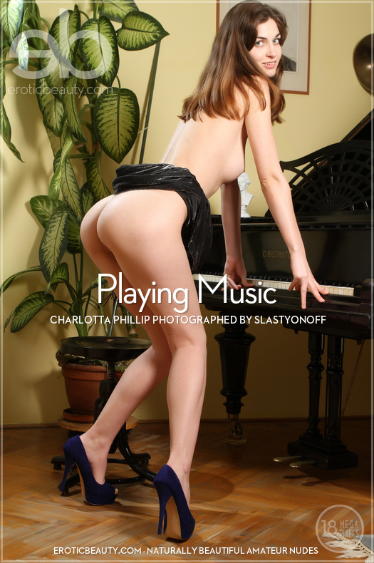 Playing Music featuring Charlotta Phillip by Slastyonoff