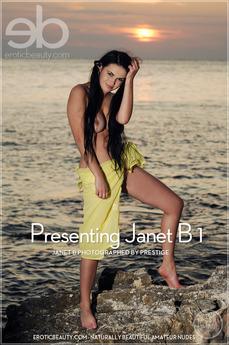 Presenting Janet B 1