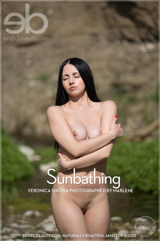 Sunbathing featuring Veronica Snezna by Marlene