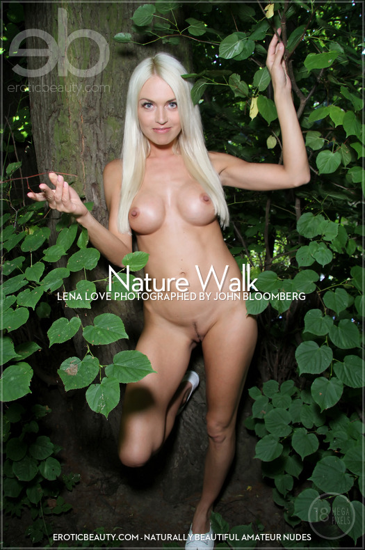 Nature Walk featuring Lena Love by John Bloomberg